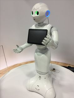 Check Out Robot Pepper Laugh & Answer Questions on @AmyxIoT #IBMwow #robot #ArtificialIntelligence