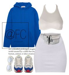 """Let EM' know"" by fuckedchanel ❤ liked on Polyvore featuring Balenciaga, adidas and AmeriLeather"