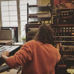 Sista Bossen are recording with Fredrik & Joakim this weekend. Happy easter! @sistabossenbandetliksom @bwabmf #tambourinestudios…