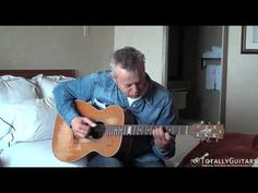 """Tommy Emmanuel plays his version of """"Moon River"""".  Ed Gerhard won a Grammy for his version."""