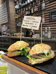 Pintxo vegetal en el Restaurante Aitzgorri de San Sebastián-Donostia.  #pintxos…