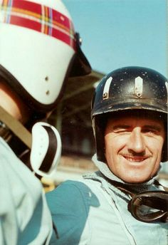 Jackie Stewart and Graham Hill