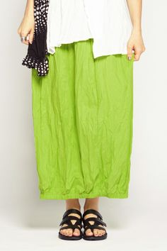 Tunnel Skirt in Lime Carnaby