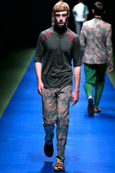 Kolor Spring 2014 Menswear Collection Slideshow on Style.com