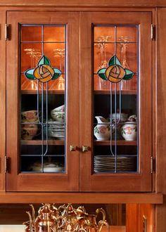 1920s Craftsman Bungalow | Craftsman Bungalow Dining Room - Deb Kadas