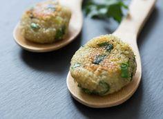 Quinoa-Kartoffel Frikadellen ein einfaches, aber sehr köstliches Gericht