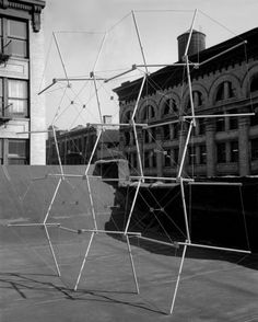 Planar Piece, York Ave. Roof, 1960, by Kenneth Snelson