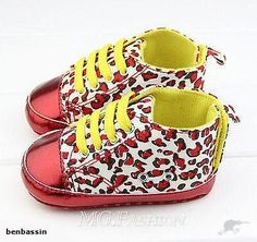 NON SKID SHOES LEOPARD RED SHINY   Trade Me