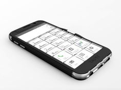 Tapit is an ergonomically designed cover case, featuring a tactile keypad which allows you to operate your phone in an easy, eye free mode.