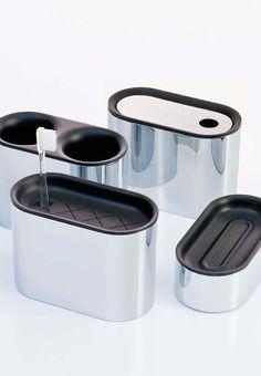 SUMA Accesorios para el baño. Sanico. 2007 Product Design #productdesign lavernia-cienfuegos.com