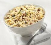Quinoa Salat mit Cranberries und Mandeln. Der Salat ist so lecker. (Recipe in German)