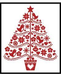 Folk Art Christmas Tree