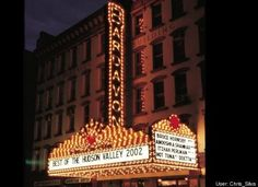 Bardavon Opera House Poughkeepsie, NY - I worked here when it was a movie theater - way back in late - early I Love Ny, Hudson Valley, Old Movies, Movie Theater, Opera House, York, Palaces, Woods, Beautiful Places
