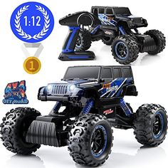 Electric RC Monster Truck with Full-Time 4-Wheel Drive System, Wild Kids Republic 1/12 Scale off roadtruck with 4 shock absorbers, digital controller  Electric RC Monster Truck with Full-Time 4-Wheel Drive System, Wild Kids Republic 1/12 Scale off roadtruck with 4 shock absorbers, digital control...