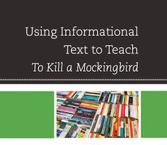 There is no one methodology for using informational text successfully in the classroom. Teachers need to have and use the freedom to decide based on their expertise in their content and their students' needs.