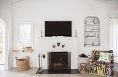 Daily Dream Decor: Bright and fun white home
