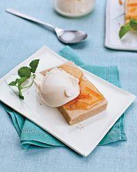 Shortbread with Marmalade and Vanilla Ice Cream Recipe on Food & Wine