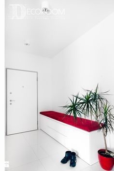 Ława w korytarzu - zdjęcie od Decoroom - Hol / Przedpokój - Styl Nowoczesny - Decoroom