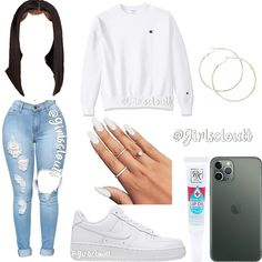 Cute Date Outfits, Really Cute Outfits, Baddie Outfits Casual, Swag Outfits For Girls, Couple Outfits, Girls Fashion Clothes, Teen Fashion Outfits, Classic Outfits, Cute Casual Outfits