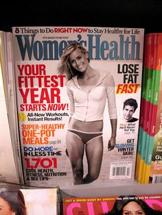 The photo inducement to purchase Womens Health is the same type of California girl model also found on the cover of Mens Fitness. http://www.flickr.com/... So, are lesbian readers the target demographic here Beauty! Here is nice blog and best business! Check out: http://empowernetwork.co...