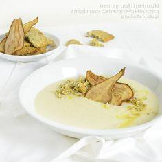 Zupa krem z gruszki i pietruszki #jesiennesmaki #gruszka #pietruszka #krem