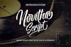 Novitha Free Elegant Script Font on Behance