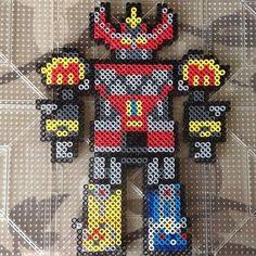 Megazord - Power Rangers perler beads by balrog3019: