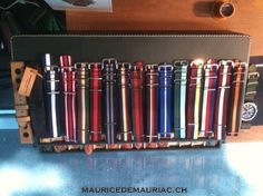 Selection of nato watch straps from #mauricedemauriac