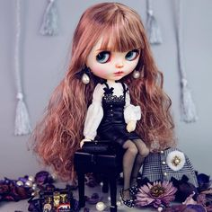 #Blythe #Blythedoll #customBlythe #noise #noisedoll #Blythecustom #doll