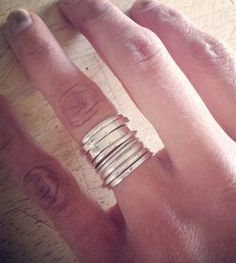 Signature Stacking Rings - Set of 10