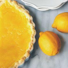 Eva Bakes - Lemon curd tart