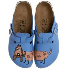 934d5947ed96d6 The only thing that will make you smile more than the adorable animal image  on these fun clogs is their Birkenstock comfort!