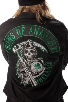 Sons of Anarchy Special Edition Ireland Unlined Mechanic Jacket | eBay
