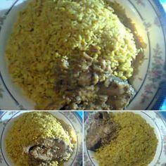Ilish biriyani (Hilsha Rice) #Bangladeshi food Bangladeshi Food, Oatmeal, Muffin, Rice, Breakfast, The Oatmeal, Morning Coffee, Rolled Oats, Muffins