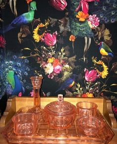 ✨Show off your colours ✨ Our Erismann Peacock Wallpaper is perfect for adding a splash of bright colour to your home! - #peacockwallpaper #classydecorstyles #beautiful_homes_feature #dailyhomeshare #housebeautiful Peacock Wallpaper, Of Wallpaper, Feature Wallpaper, Stunning Wallpapers, Dramatic Effect, Inspirational Wallpapers, Exotic Birds, All Wall, Dark Backgrounds