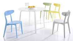 Multi coloured dining chairs under £50