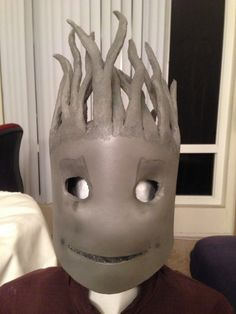Make your own groot costume for less than 50 costumes pinterest baby groot costume wip solutioingenieria Gallery