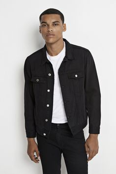 Dakota Jacket - black.  Shop online at www.wearecph.com