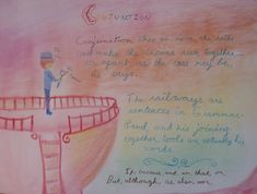 Waldorf ~ 4th grade ~ Grammar ~ Conjunction ~ main lesson book