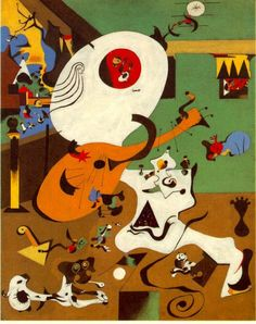 Miró, interior Holandés