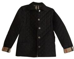 Burberry Black Spring Jacket Size 0 (XS). Free shipping and guaranteed authenticity on Burberry Black Spring Jacket Size 0 (XS)Black Burberry jacket.  Button closure. Excellent ...