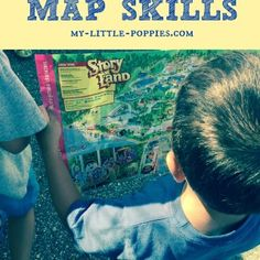 Using Field Trips to Practice Map Skills {Story Land}