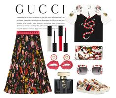 """""""Presenting the Gucci Garden Exclusive Collection: Contest Entry"""" by pixidreams ❤ liked on Polyvore featuring Gucci and gucci"""
