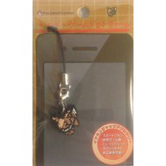 Pokemon Center 2013 Game Dot Charm Eevee Mobile Phone Earphone Jack Accessory Strap