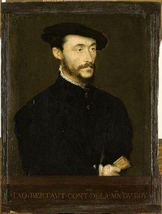 Jacques Bertaut, contrôleur de la Maison du Roi ... Corneille de Lyon (vers 1500-vers 1575)