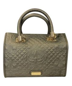 Loving this Pewter Penelope Satchel on #zulily! #zulilyfinds