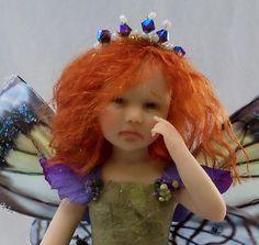 Ooak Fairy, Fae, Faery, polymer clay, sculpture, OGLD, PRFAG, IADR, ADSG