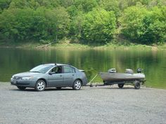 With cooler temperatures and hunting seasons, there may be fewer people at the lake so this might be a good time to practice backing a boat trailer. #takemefishing