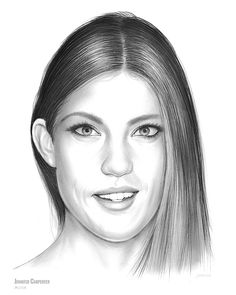"""Jennifer Carpenter - Sketch of the Day, Monday, June 21, 2017  Jennifer Leann Carpenter (born December 7, 1978) is an American actress best known for playing Debra Morgan on the Showtime drama series Dexter (2006–13), for which she won a Saturn Award for Best Supporting Actress on Television in 2009. She is also known for starring in the hit film """"White Chicks"""" as (Lisa). She starred as Rebecca Harris in the CBS series Limitless from 2015 until its 2016 cancellation.  Source: Wikipedia"""