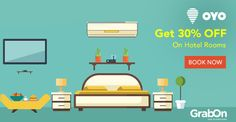 Grab This Super Deal On #Hotel Rooms. Book Using #OYORooms & Get Flat 30% OFF. http://www.grabon.in/oyorooms-coupons/ #SaveOnGrabOn